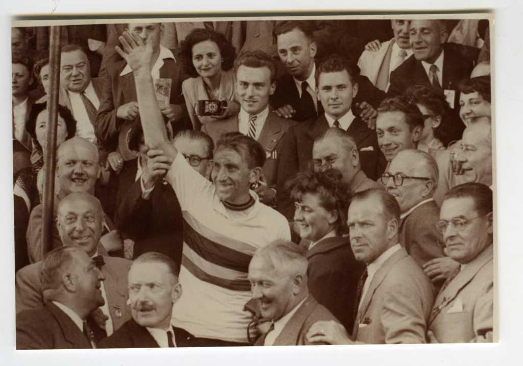Briek Schotte World Champion 1950 Moorslede