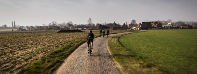 Wiggins In Flanders 25 Andy Cobbles Chase