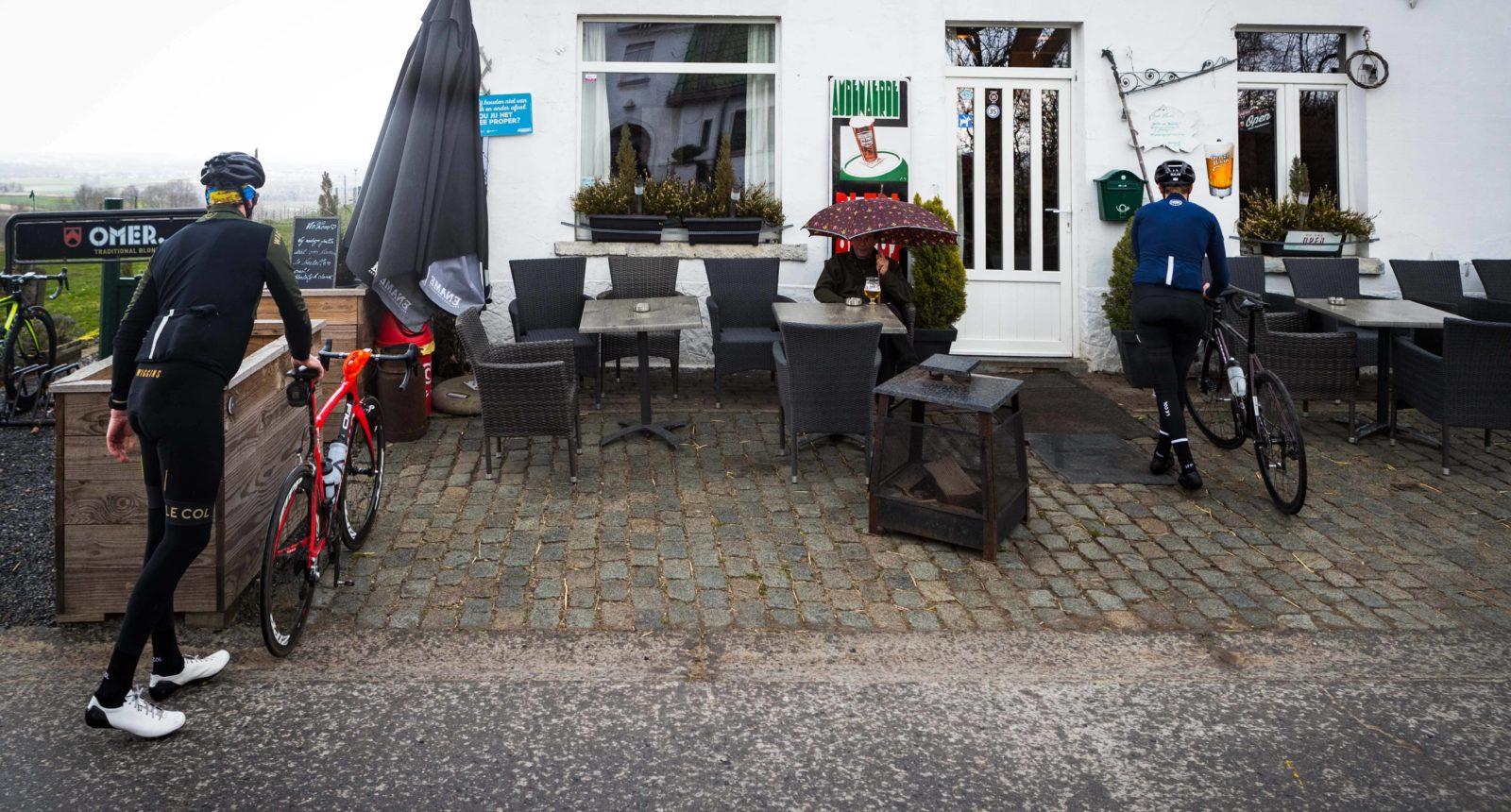 Bis Wiggins In Flanders 44 Bis Oude Hoeve Arrival