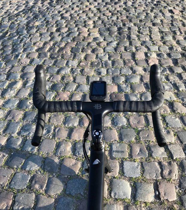 Bike On Cobbles